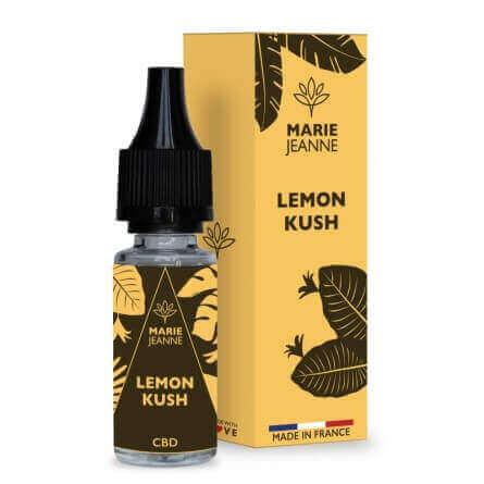 E-liquide CBD Lemon Kush Gamme authentique - Marie Jeanne