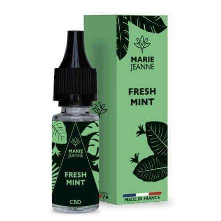 E-liquide CBD Fresh Mint Gamme classique - Marie Jeanne