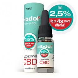 Huile CBD Liposomale 2.5%  Cibdol 10ml