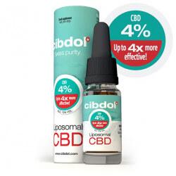 Huile CBD Liposomale 4%  Cibdol 10ml