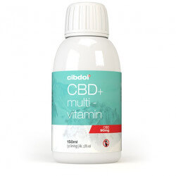 Multivitamines au CBD Cibdol - 150ml