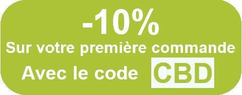 Huile cbd code promo